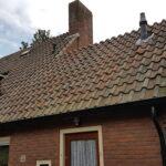Bestaande situatie met laag dak en kleine dakkapel